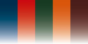 Illustration: 5 couleurs pour 5 lignes de vivencia